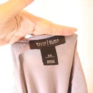 White House Black Market Tops - White House Black Market Sparkle Gray TShirt XS